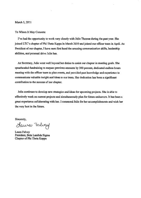Recommendation Letter Sle Sorority Sorority Recommendation Letter Letter Here Is A Sle Letter Of Sorority Recommendation 7 Sle