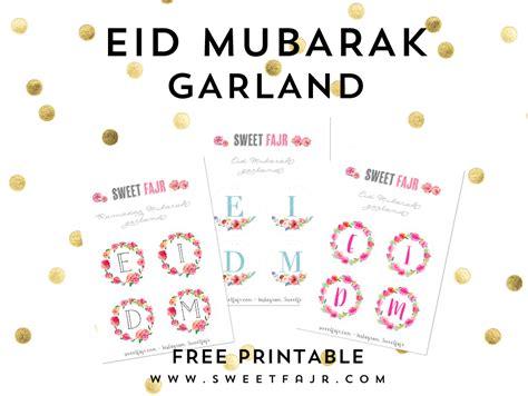 Punch Home Design 4000 Free Download by Eid Mubarak Garland Free Printable Sweet Fajr