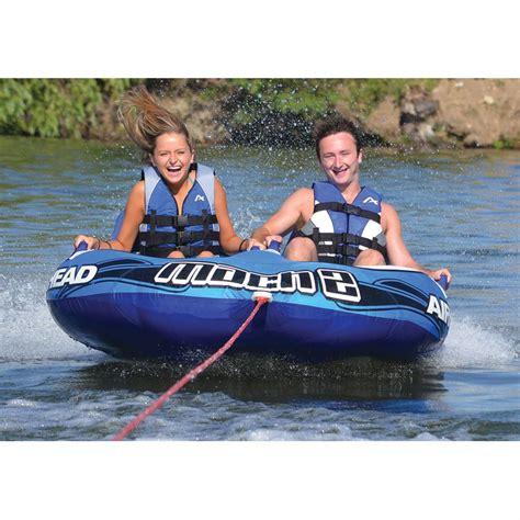 boat tubes airhead airhead 174 mach 2 rider towable tube 296405 tubes