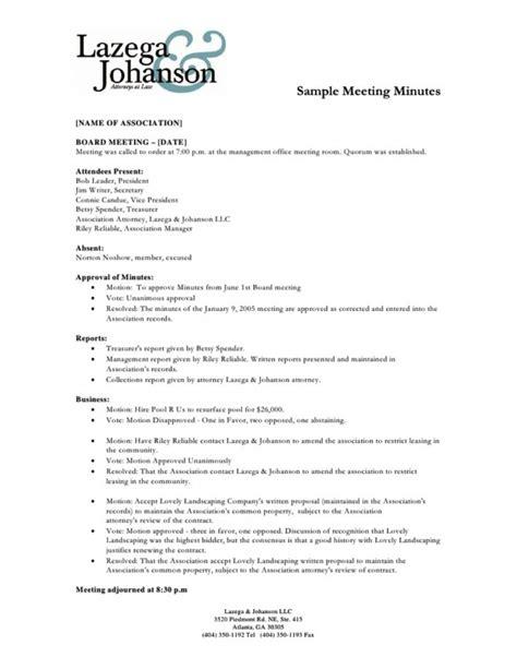 membuat resume rapat contoh contoh minutes of meeting mom