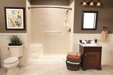 Handicap Accessible Bathroom Design by Subway Tile Bathroom Walls Liberty Home Solutions Llc
