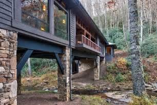 cabin stilts interior design ideas