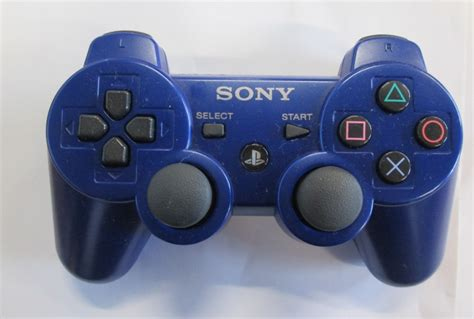 Blue Ps3 8 sony playstation ps3 dualshock 3 controller blue 99007 for