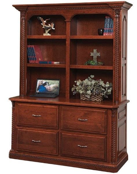 60 quot lateral file with optional bookshelf
