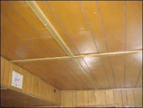 how to fix wood paneling paneled ceilings mobile home repair