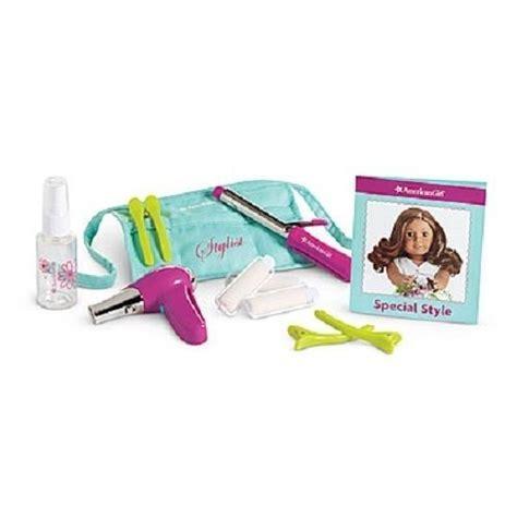 american girl doll hair dresser american girl salon stylist set for doll salon center for