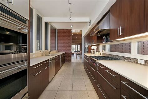 modern galley kitchen designs 53 spacious quot new construction quot custom luxury kitchen designs