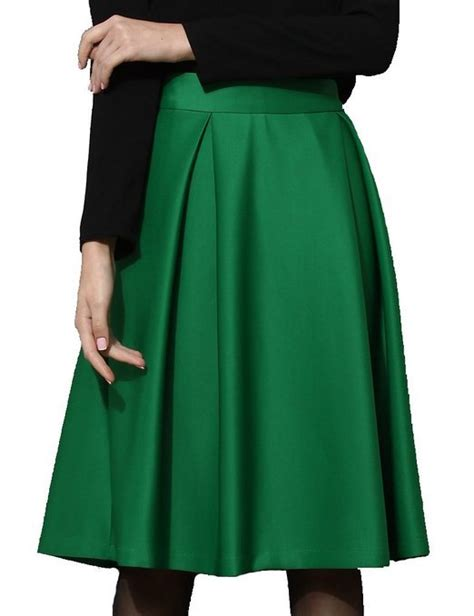 midi plus size pleated skirts summer style saia midi satin