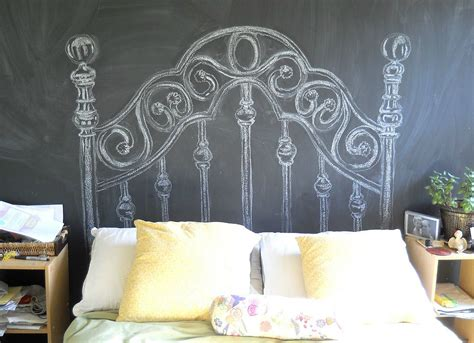 diy chalkboard headboard chalkboard headboard how to make a headboard 14 diy designs bob vila