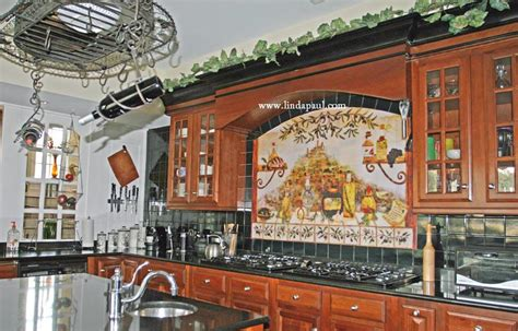 italian kitchen backsplash kitchen backsplash tile murals by paul studio by
