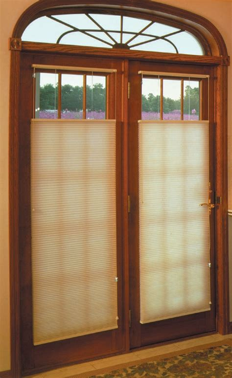 Door Shades For Doors With Windows Ideas Window Treatments For Doors