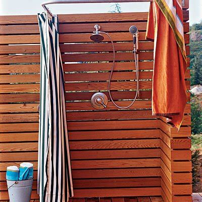 plumbing for outdoor shower the outdoor shower enclosure information about types of