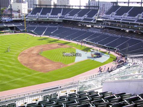 how many seats inerica park how many seats in section 338 row a at comerica park