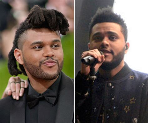 the weekend haircut the weeknd s haircut short hair for snl premiere