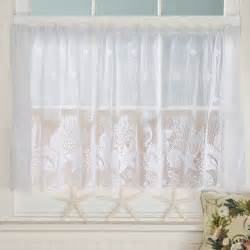 Sea Shell Curtains Seashell Lace Curtains Sturbridge Yankee Workshop