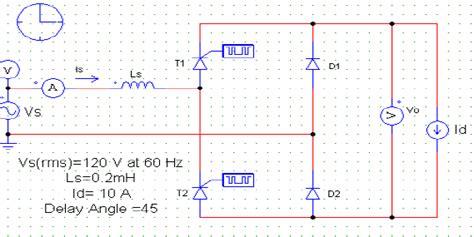 capacitor 104k50 three phase diode bridge rectifier simulation 28 images wave bridge rectifier matlab
