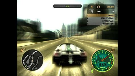 koenigsegg agera r need for speed most wanted location need for speed most wanted 2005 pc koenigsegg agera r