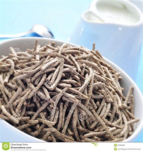 Cereal Stick cereal bran sticks and milk royalty free stock photos image 31665308