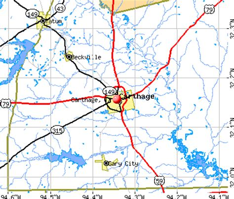 map of carthage texas opinions on carthage texas