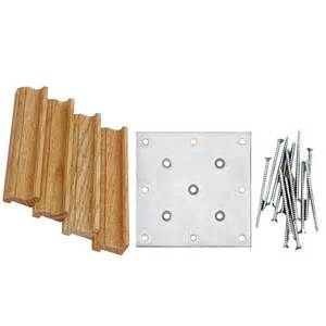 shop creative stair parts newel post installation kit at