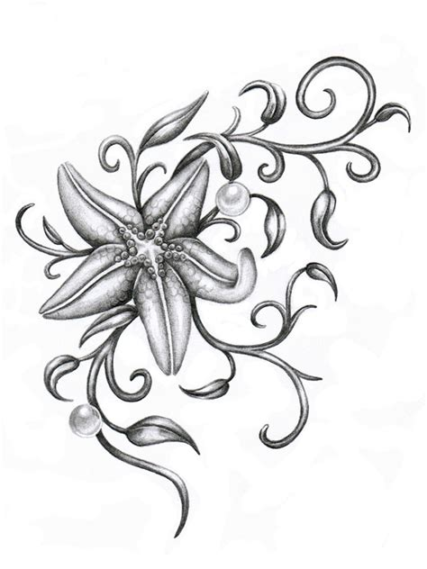 sea star tattoo designs starfish by ca5per on deviantart