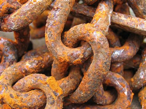chain rust old   chain