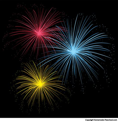 Picture Of Fireworks Clipart 101 Clip Art Fireworks Animation For Powerpoint