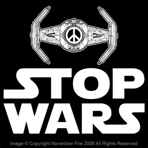 Wars Original Gildan stop wars wars peace sign darth vader tie