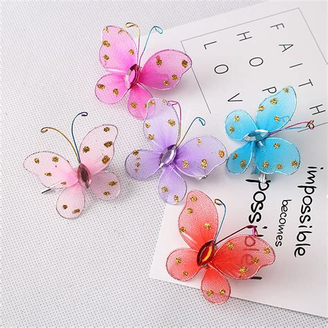 New Arifal Set Overall Sweety 5pcs lot new arrival fashion style children hair accessories sweet glitter butterfly