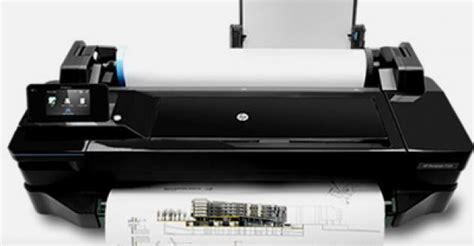 Printer Hp T120 hp designjet t120 24 in eprinter new replace 111 5004565