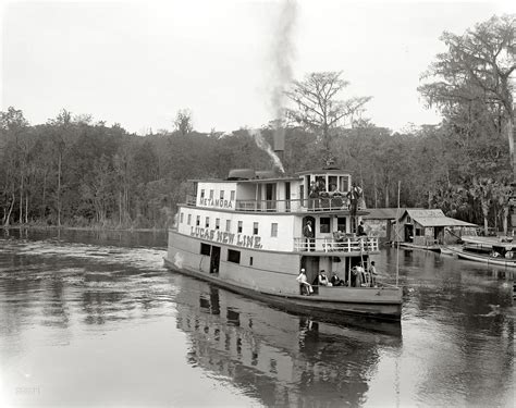 glass bottom boat chattanooga tn shorpy historic picture archive silver springs 1902