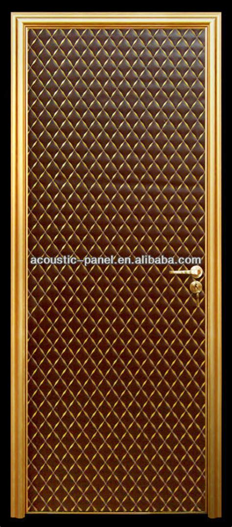 Interior Door Noise Reduction by Single Leaf Noise Reduction Soundproof Interior Acoustic