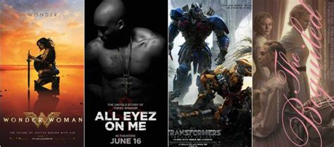 2017 june film all the hollywood blockbusters coming to a theatre near