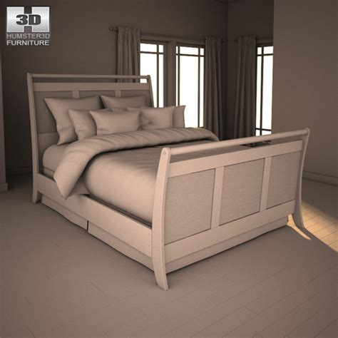 3d bedroom sets ashley pinella sleigh bedroom set 3d model hum3d