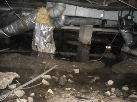 sewage smell in basement american basement solutions musty odor or sewage leak in crawl space you be the judge