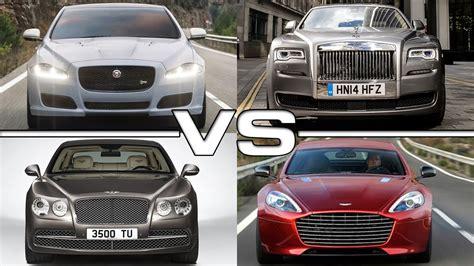 bentley vs rolls royce jaguar xj vs rolls royce ghost series ii vs bentley flying