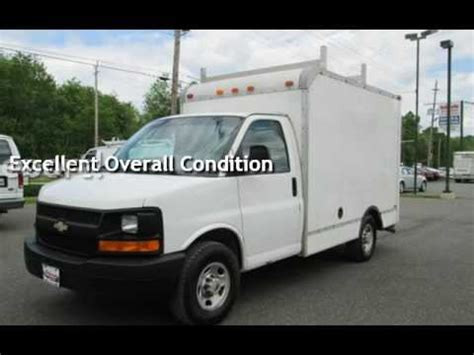 10 box truck for sale 2004 chevrolet express 3500 box truck 10 for sale in east