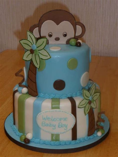 baby shower decorations monkey theme boy 26 best cake monkeys images on