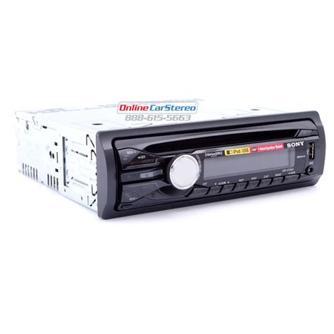 sony cdx gt56ui single din in dash cd stereo mp3 wma
