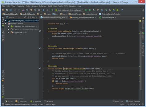 themes android studio a tour of the android studio user interface techotopia