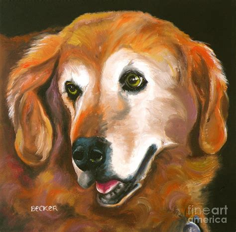 golden retriever fur golden retriever fur child painting by susan a becker