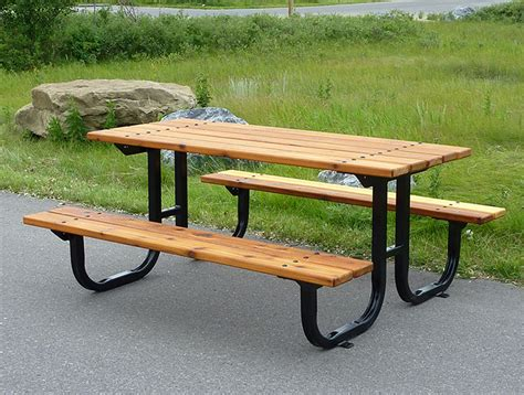 24 picnic table designs plans and ideas