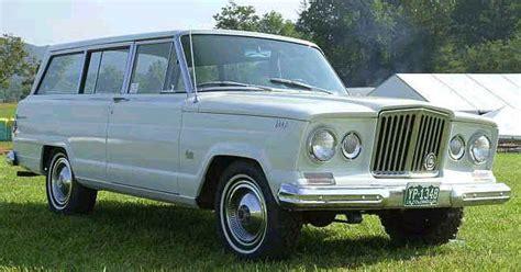 64 Jeep Wagoneer 1988 Grand Wagoneer Wally