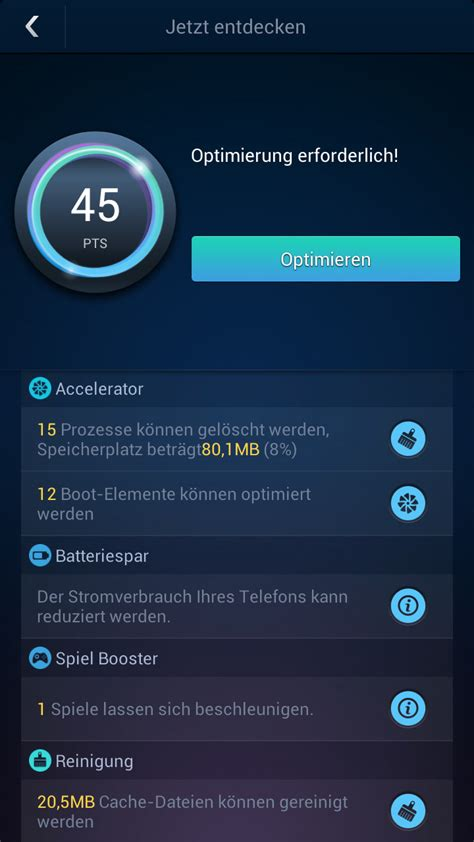 android speed booster du speed booster android app chip
