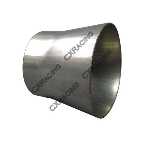 Forged Racing Reducer Hose 3 25 4 Inch 3 quot to 2 5 quot 304 stainless steel reducer jointer pipe exhaust catback header