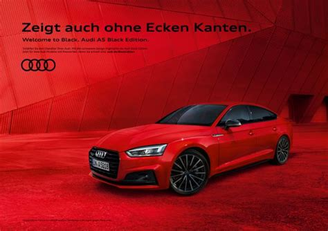 Musik Audi Werbung by Quot Welcome To Black Quot So Werben Kolle Rebbe Und Ddb