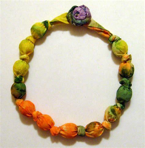fabric bead necklace 31 diy projects in 31 days day twenty six my fair olinda