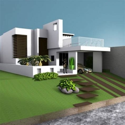House Villa Residence Building Free 3d Model ID7056   Free
