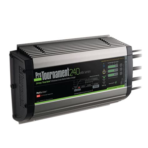 onboard battery charger 3 bank promariner protournament 240elite charger 24