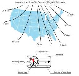 us compass zone map how to use a compass with a usgs topographic map